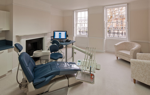 Beautiful rooms. Oxford dentist